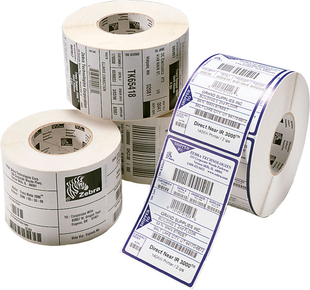 4x3 Waterproof Labels